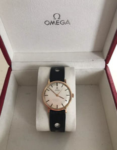 Omega men's watch – Automatic – Gold – Time only