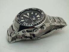 Seiko  Prospex Kinetic GMT Review men diver watch