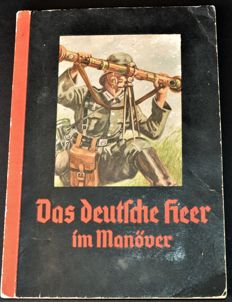"Collectible picture album ""The German army in the manoeuvres"" 1936"