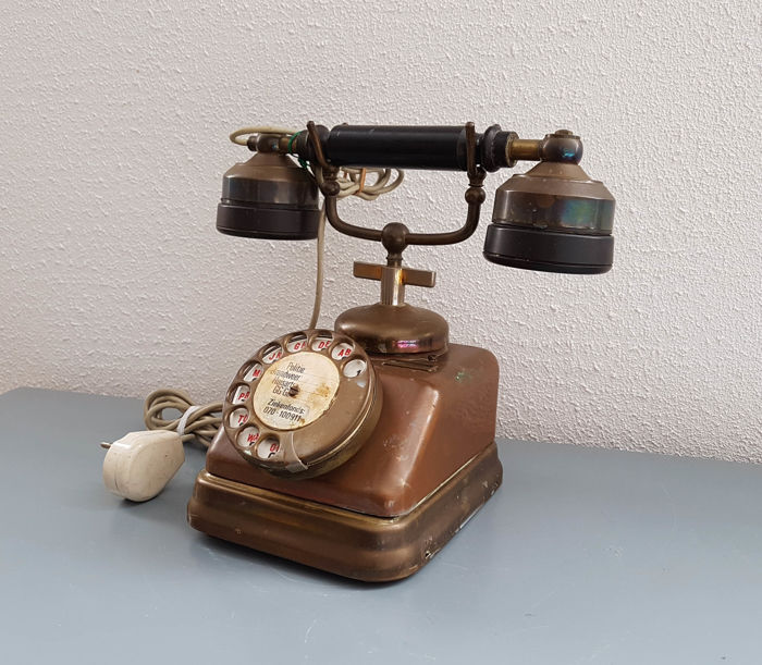 Copper industrial KTAS telephone