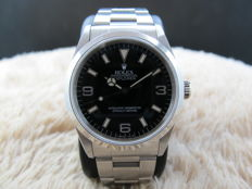 1997 ROLEX EXPLORER 1 14270 BLACK DIAL (T25) WITH MINT CONDITION