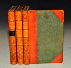 Captain Marryat - Masterman Ready. Or, The Wreck of the Pacific - 3 volumes -  1841/1845