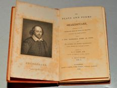 William Shakespeare - The Plays and Poems of Shakespeare, - 15 volumes - 1848