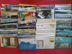 Republic of Italy from 1962 to 1980 – Lot of 636 specimens including First Day envelopes,  B&W Postcards, and Publicity Postcards