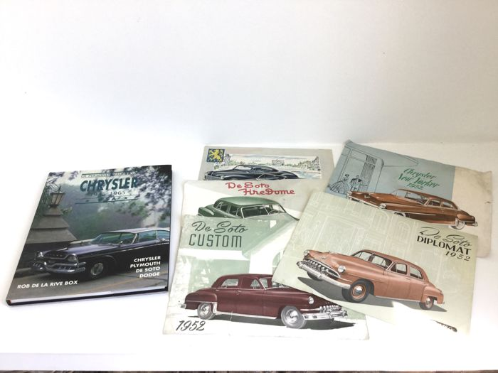 Chrysler / DeSoto - Book + 5 Brochures