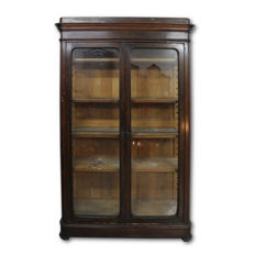 Neapolitan Louis Philippe rosewood bookcase - second half of the 19th century