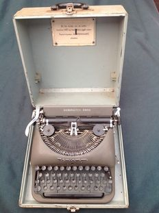 Remington Rand typewriter, ca. 1950