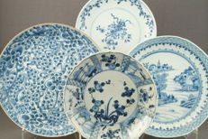 Large plates – China – 18th century