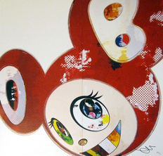 Takashi Murakami - And Then x6 (Red)