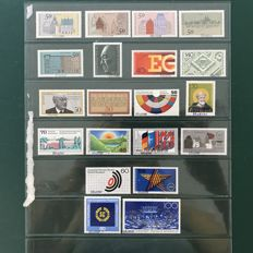 Germany 1975/1992 – Selection of 20 specimen stamps