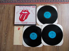 The Rolling Stones Box 3 LP  Live Wembley Stadium , London England , June 25 , 1982 , Unofficial Releaes