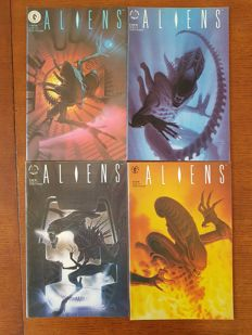 Collection Of Aliens And Predator Comics - Many Complete Sets - Dark Horse Comics - x83 SC - (1989/1994).