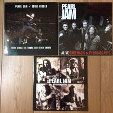Pearl Jam collection | 3 LP'S | Still in sealing!