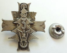 Regiment badge of the Polish independent Carpathian rifle brigade