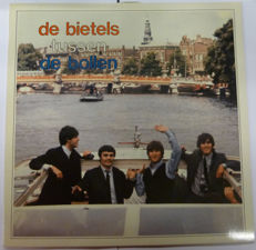 "The beatles ""tussen de bollen"" Rare limited edition Dutch fanclub release"