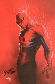 Gabriele Dell'Otto - Lithograph - 'Spider-Man' - Signed