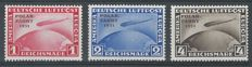 German Reich 1931 - Airmail Graf Zeppelin Polarfahrt - Michel 456/458