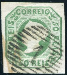 Portugal 1853 - First Issue Doña Maria - Michel 3