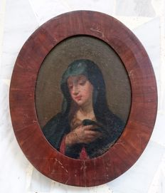 French school 17th century - Vierge