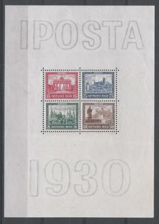 German Empire 1930 - IPOSTA - Michel block 1