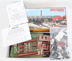 Vollmer H0 - 5758 - 6-track round loc shed, not built