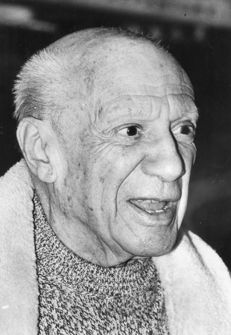 Unknown/Keystone/Scanpix - Pablo Picasso - 1960s/70s.