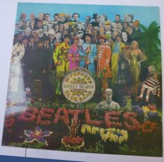 """sgt.pepper's Lonely Hearts Club Band"" LP Album"