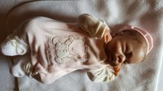 Ashton Drake baby doll - real touch - dressed - mint condition