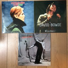 David Bowie collection | 3 LP's | Still in sealing!