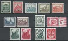 German Reich, 1932-1934, selection, Michel 463-464, 474-478, 544-554, 546-547, 554-555