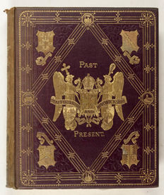 John Alfred Langford - Staffordshire and Warwickshire, Past and Present, 2 volumes in 4 bindings - ca. 1880