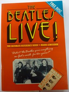"Mark Lewisohn first book: ""The Beatles live"" including the rare flexie disc"
