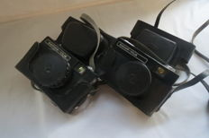 "Lot of 2 cameras ""Viliya"", (produced in 1974-1985) and Mechanical Association ""BELOMO""."