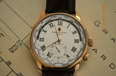 edward east of london - Edward East world time - in rose gold pl. EDW1960G20 - Men - 2011-present  As new -factory condition