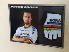 Peter Sagan - 2x Worldchampion and 5x winner green jersey Tour de France - hand signed glove + COA