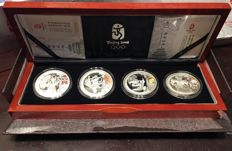 China - 10 Yuan 2008 'Beijing Games of the XXIX Olympiad' (4 coin set) Series III - Proof