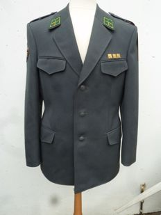Rare and unique Swiss coat of everyday uniform