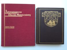 Amsterdam; Lot with 2 books about the harbour of Amsterdam - 1926/1930