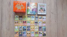 Big collection of over 300 Pokemon cards - Pokemon cards, 2 albums and Elite Trainer box