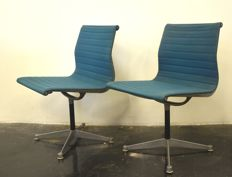 Charles & Ray Eames for Herman Miller – EA105 desk chair x 2