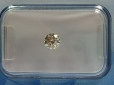 Brilliant cut diamond, 0.32 ct. STW J VVS 2 with HRD certificate