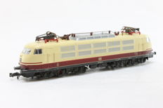Fleischmann N - E-loc BR103 of the DB