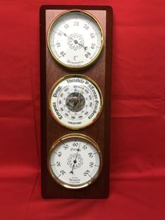 Weather station - hygrometer - thermometer - barometer - Italy - 1970