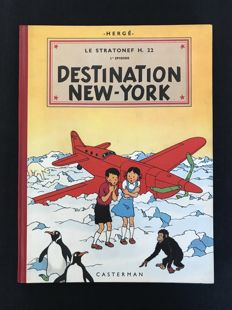 Jo, Zette et Jocko T2 - Destination New-York - C - Ré (1952)