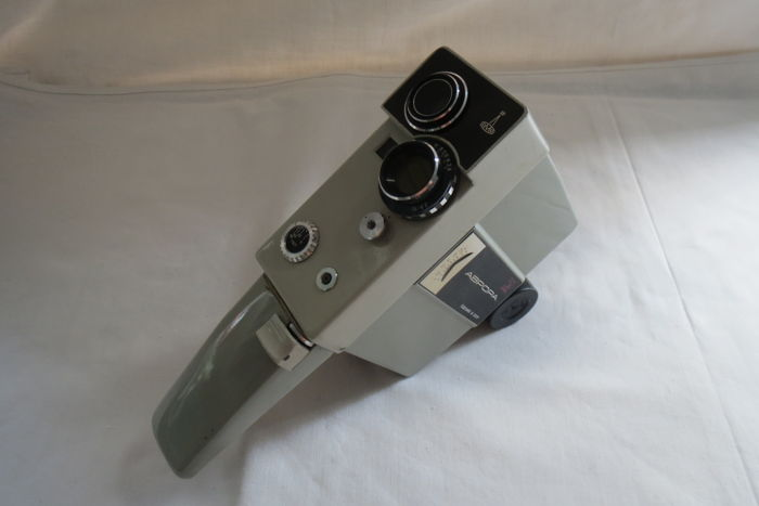 """Aurora"" movie camera, 1966-1974 years Lomo Prolongation (Leningrad) Lens E-51 2.8 / 10"