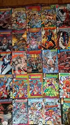 Large Collection Of Image Comics / Extreme Studios - Including Youngblood - Brigade - Supreme - Newmen + More - x120 SC