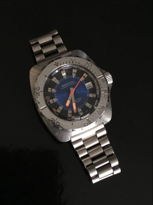 Mirexal 1000ft 300M Divers watch Swiss 70'S