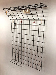 Karl Fichtel for Drahtwerke Erlau A.G. Aalen – modernist form coat rack