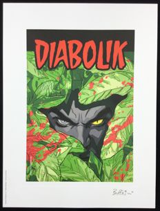 "Buffagni, Matteo - artwork for Diabolik ""Come una Pantera"""