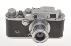 Shanghai Camera Factory, very rare Shanghai 58-II with 50/3.5, copy of Leica IIIA